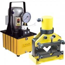 Bộ máy chấn V thủy lực và bơm điện HHM-630B