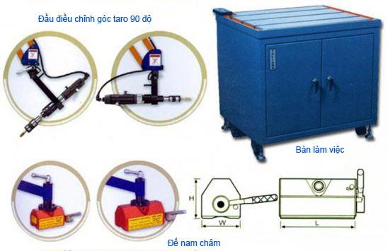 phụ kiện máy taro cần khí nén