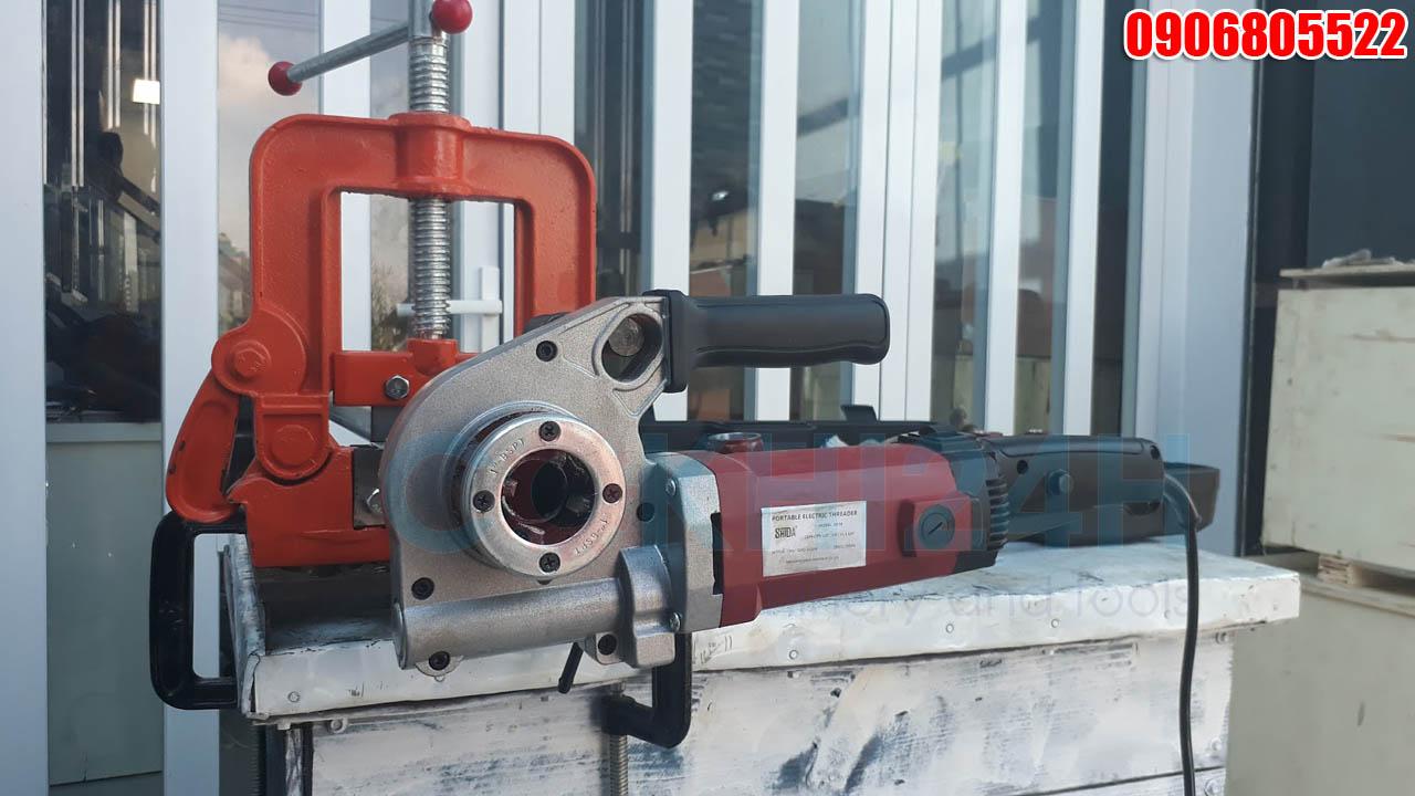 Máy tiện ren ống cầm tay Shida SD30