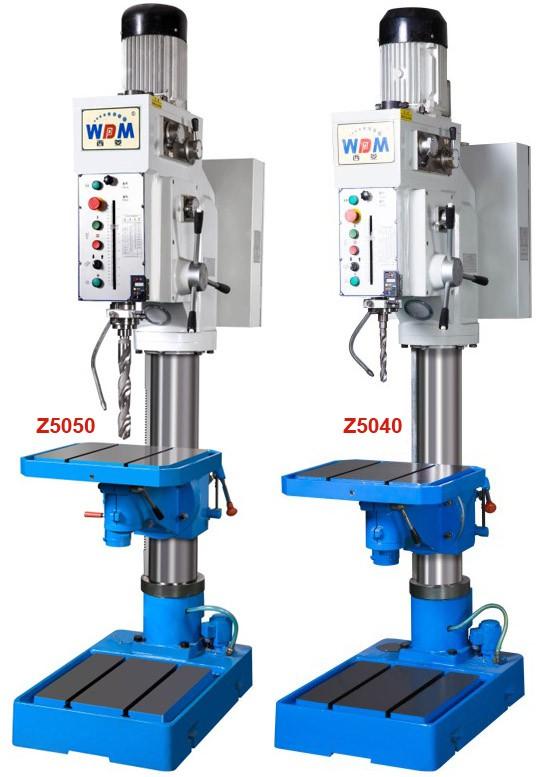 Máy khoan bàn và taro hộp số tự động Z5050 & Z5040