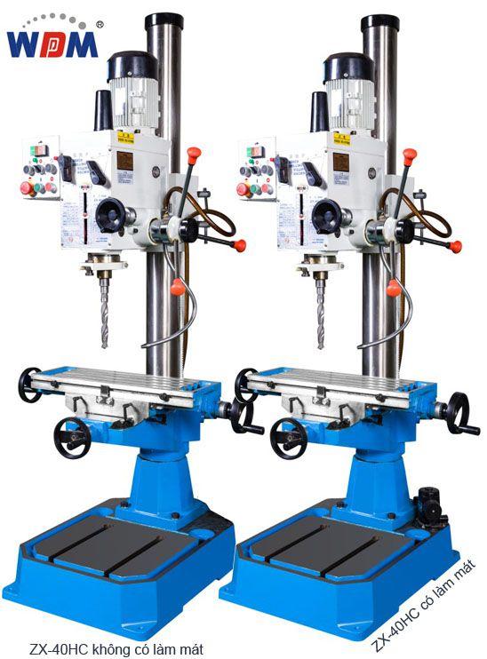 Máy khoan phay hộp số manual ZX-40HC và ZX-40PC