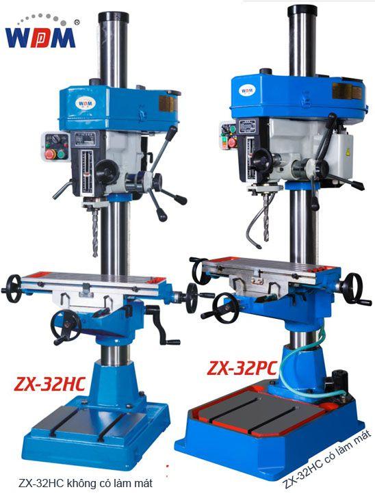 Máy khoan phay manual ZX-32HC và ZX-32PC