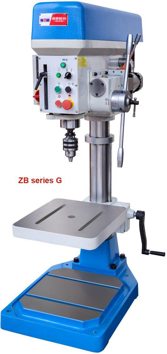 máy khoan bàn tự động có taro ZB4116G, ZB4120G và ZB4132G